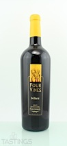 "Four Vines 2009 ""Biker"" Zinfandel"