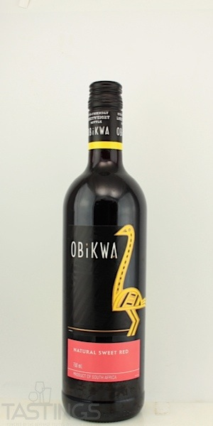 Obikwa 2012 natural sweet red south africa south africa for Jardin wine south africa
