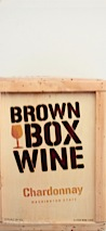 Brown Box Wine NV  Chardonnay