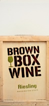 Brown Box Wine NV  Riesling