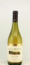 Casa Nueva 2013 Reserva Chardonnay