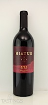 "Hiatus Cellars 2010 ""Apex"" Red Wine Napa Valley"