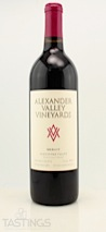 Alexander Valley Vineyards 2011 Estate Merlot