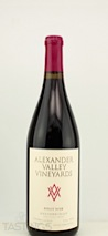 Alexander Valley Vineyards 2012 Estate Pinot Noir