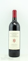 Alexander Valley Vineyards 2010 Wetzel Family Estate Cabernet Franc