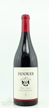 "Hooker 2010 ""Home Pitch"" Syrah"