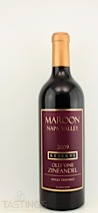 Maroon Wines 2009 Reserve, Single Vineyard Zinfandel