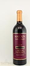 Maroon Wines 2009 Reserve, Maroon Vineyard Cabernet Sauvignon
