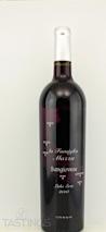 """Mazza Vineyards 2010 """"La Famiglia Mazza"""" Sangiovese"""