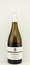 """G. Marquis 2011 """"The Silver Line"""" Chardonnay"""