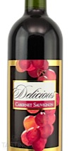 Delicious 2012  Cabernet Sauvignon
