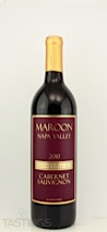 Maroon Wines 2010 Heritage Collection Cabernet Sauvignon