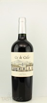 Ca' de Calle 2011 Reserva, Red Wine Mendoza