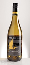 """Heron Hill Winery 2013 """"Unoaked"""" Classic Series Chardonnay"""