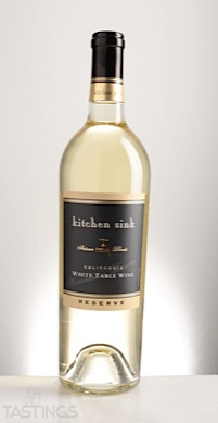 Kitchen Sink NV Reserve White Table Wine California USA Wine ...
