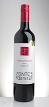 "Zonte's Footstep 2013 ""Chocolate Factory"" Shiraz"