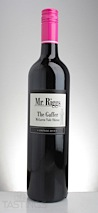 """Mr. Riggs 2013 """"The Gaffer"""" Shiraz"""