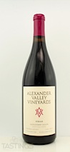 Alexander Valley Vineyards 2011 Estate Syrah