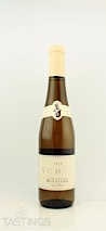 Schug 2012 Late Harvest Riesling