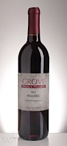 Grove Winery 2011  Malbec