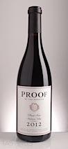 Proof 2012  Pinot Noir