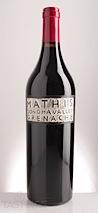 Mathis 2009  Grenache