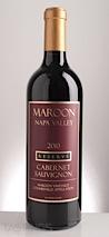 Maroon Wines 2010 Reserve Cabernet Sauvignon