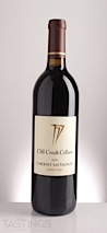 Cliff Creek 2011  Cabernet Sauvignon