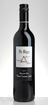 Mr. Riggs 2013 Three Corner Jack, McLaren Vale