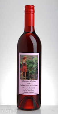 Salt Of The Earth 2014 Moscato Rubino California Usa Wine