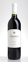 Livermore Ranch 2013 Merlot, Livermore Valley
