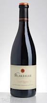 Blakeslee Vineyard Estate 2013 Estate Reserve Pinot Noir