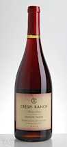 Crespi Ranch 2012 Mission Series Pinot Noir