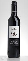 """Mr. Riggs 2014 """"The Ring In"""" Shiraz"""