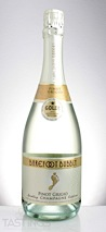 Barefoot NV Bubbly Pinot Grigio Sparkling Champagne California