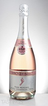 Barefoot NV Bubbly Pink Moscato Sparkling Champagne, California