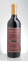 Maroon Wines 2012 Reserve Malbec