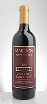Maroon Wines 2010 Reserve, Cabernet Sauvignon, Coombsville