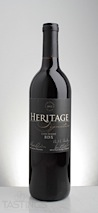 Heritage 2012 Estate Reserve, BDX, Outer Coastal Plain