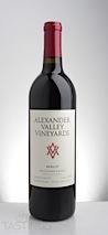 Alexander Valley Vineyards 2012  Merlot