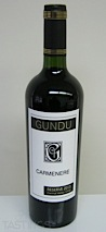 Gundu 2013 Reserve, Carmenère, Central Valley