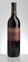 Heritage 2012 Limited Release, Cabernet Franc, Outer Coastal Plain