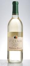 St. Clair Winery 2013  Malvasia Bianca