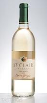 St. Clair Winery 2013  Pinot Grigio