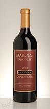 Maroon Wines 2010 Reserve Zinfandel