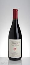 Alexander Valley Vineyards 2013 Estate Syrah
