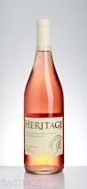 Heritage 2013 Dry Rose Outer Coastal Plain