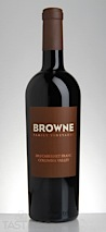 Browne 2012 Cabernet Franc, Columbia Valley