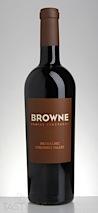 Browne 2012  Malbec