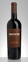 Browne 2012  Merlot